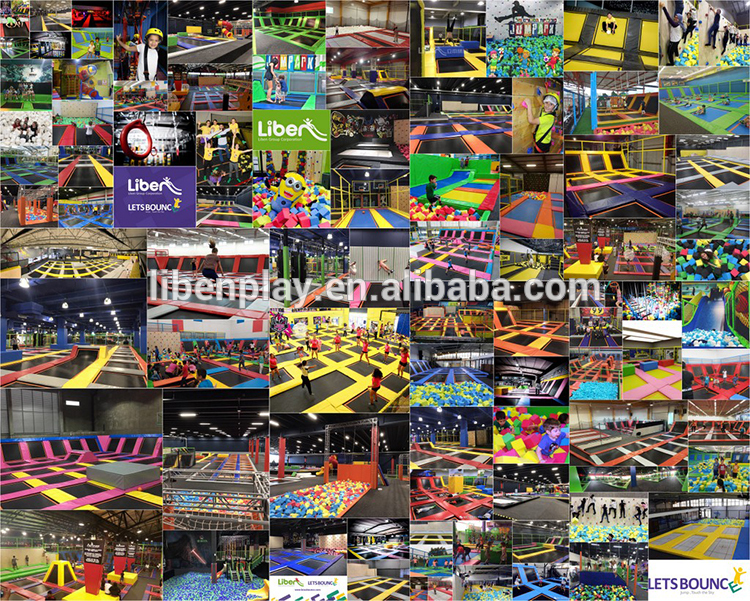 Liben 300+ Successful Trampoline Park Projects
