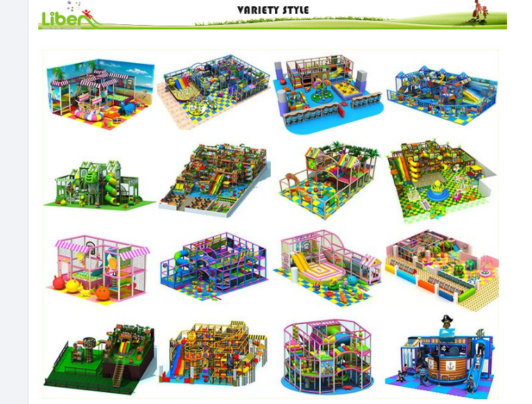 more style of Soft Play Equipment
