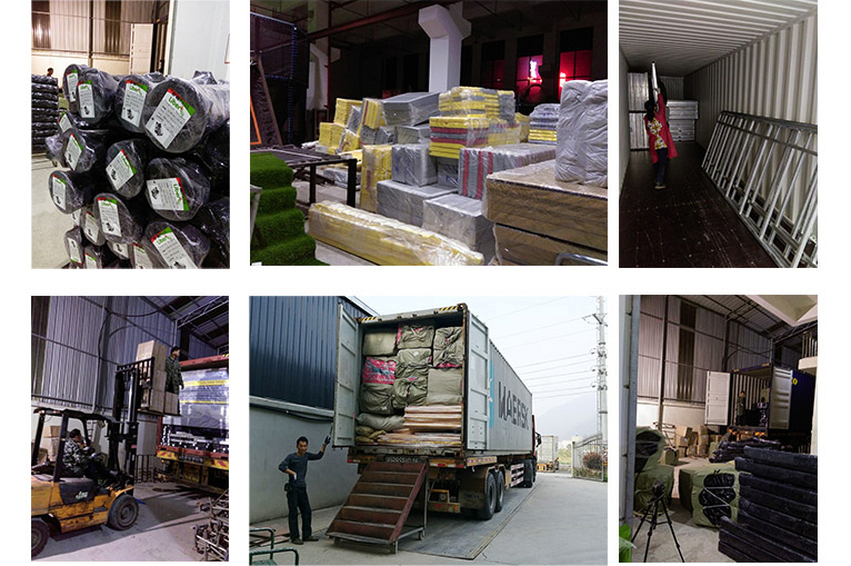 Package and shipping of indoor playground