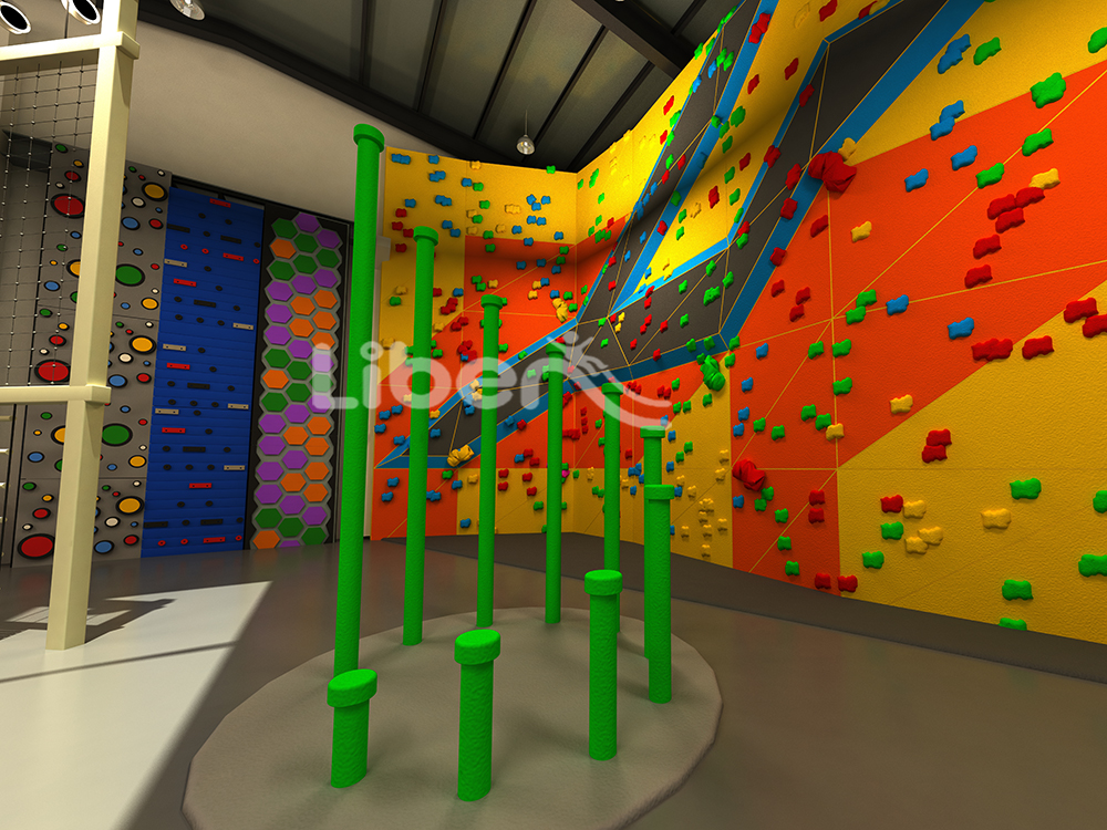 Adventure and sports play center design