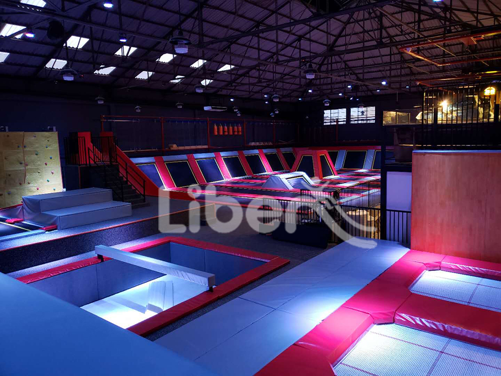 trampoline park built by Libenplay