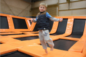 How much does it cost to open a trampoline park?