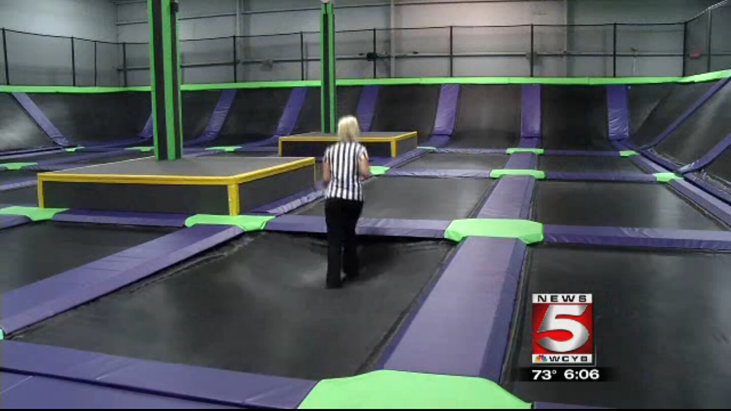 Just Jump Trampoline Park is now open!