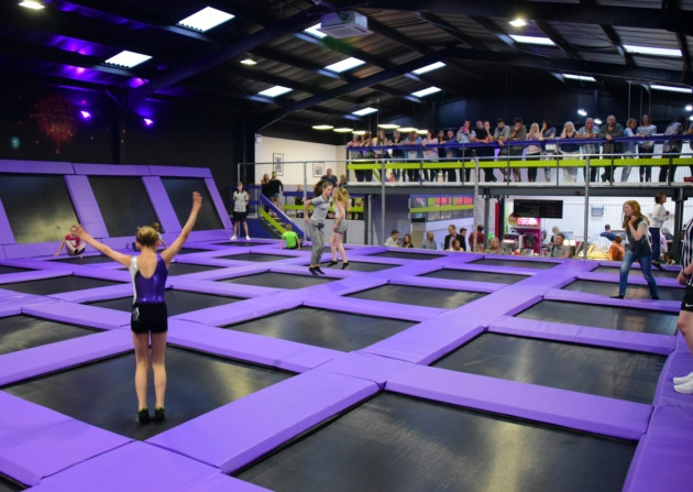 Bad weather gives new trampoline centre a bounce in visitor numbers