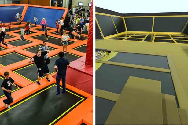 Delayed opening for trampoline park set to open in Cardiff - but Swansea will also get one