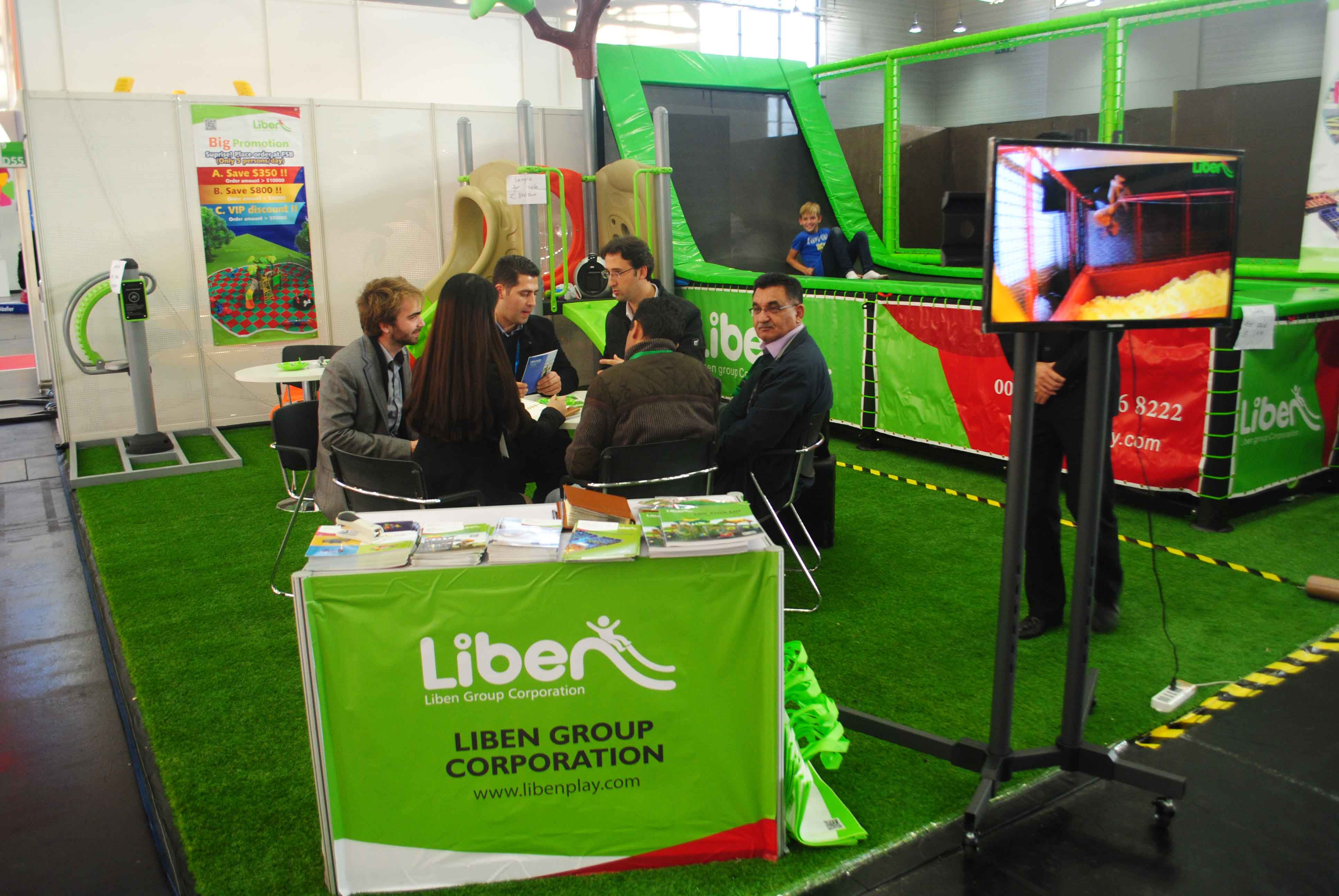Liben Group Corporation attend 2015 FSB Trade Fair in Cologne, Germany