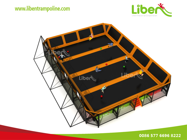China Manufacturer Indoor Trampoline Park For The Young