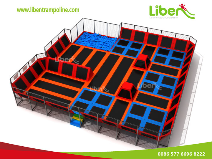 Customized China Manufacture Adults Indoor Trampoline Location