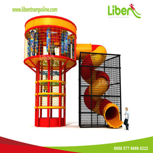 Climing Tower Trampoline
