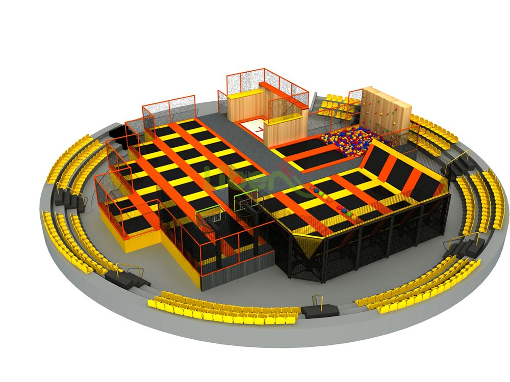 Liben Trampoline Park And Indoor Playground In South Africa