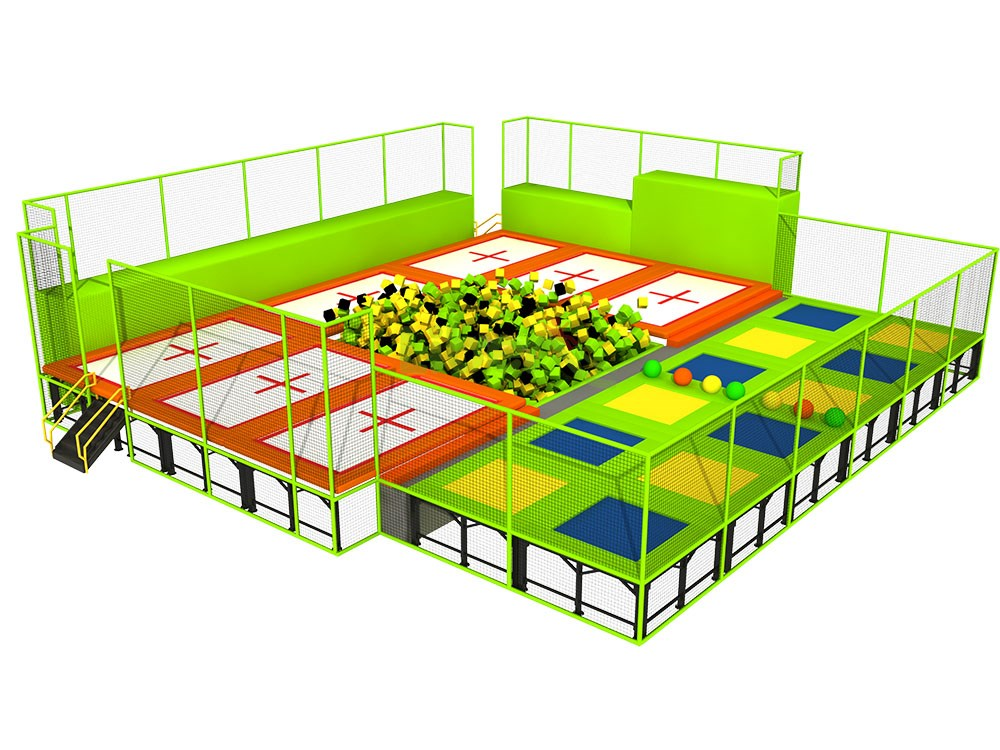 Liben Trampoline Park And Indoor Playground In Russia