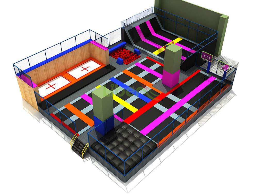 Liben Trampoline Park And Indoor Playground In ShiJiaZhuan