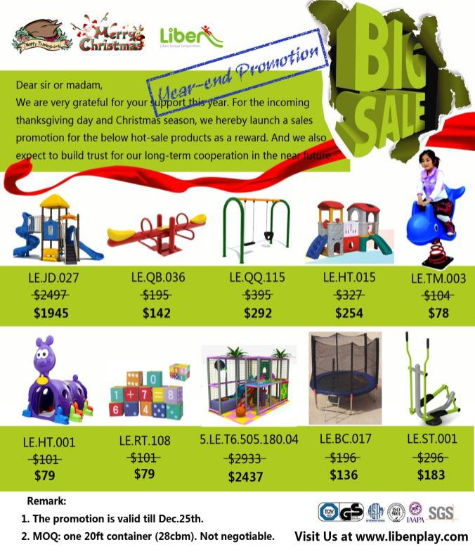 Price of playground equitment