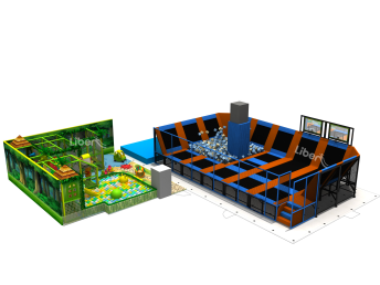Design drawing for the indoor playcenter