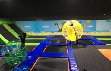 New Games in indoor trampoline park