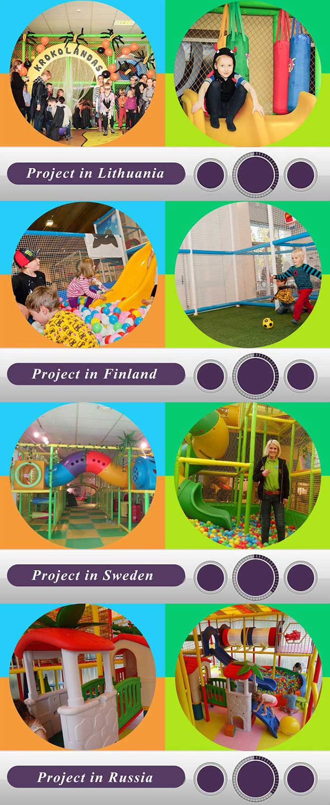 Liben Indoor Play Ground Projects