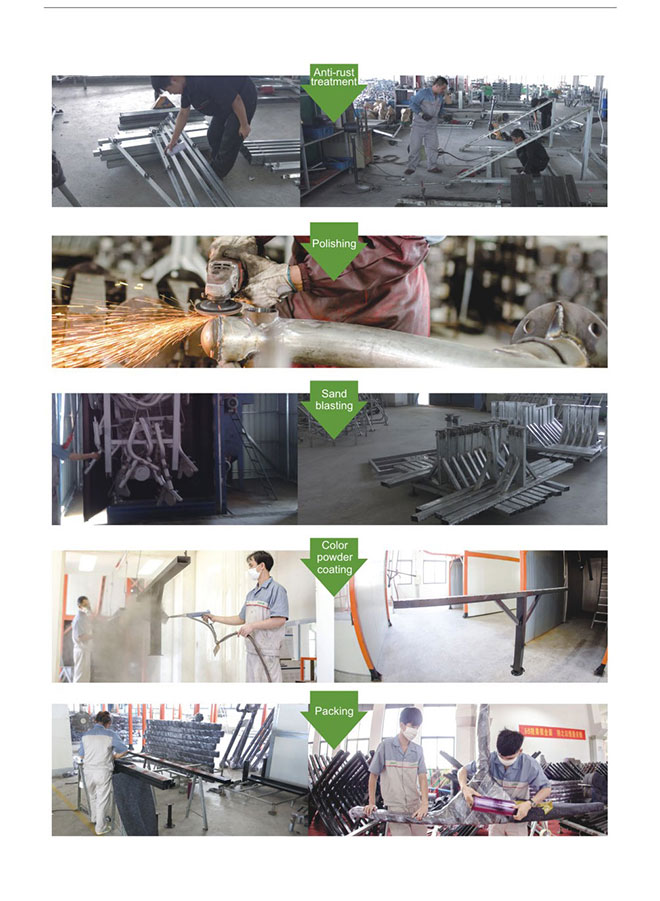 Trampoline Metal Part Production 2